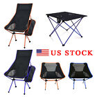 Lightweight Foldable Portable Table Chair Ultra Light Outdoor Travel Beach Seat