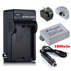 LP-E5 1800mA Battery + Charger for Canon EOS 1000D 450D 500D Digital Rebel Xsi