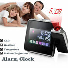 LCD Digital LED Projector Projection Table Alarm Clock Weather Station Calendar