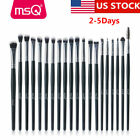 US 20Pcs Eyeshadow Brow Makeup Brush Sets Eyeliner Blending