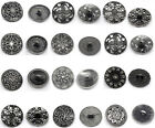 Fashion Silver Tone Sewing Metal Buttons Accessories DIY