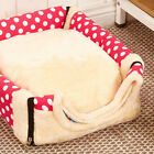 Vinage Super Soft Warm Pet Dog Cat Bed House Mat Pad Washable Puppy Cushion New