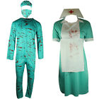 BLOODY SURGEON NURSE HALLOWEEN COSTUME UNIFORM DRESS OUTFIT FANCY DRESS ZOMBIE