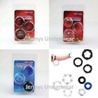 3 Piece Penis Ring Set Donut Beaded Erection Impotence Sex Aid Same Day Dispatch