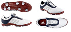 Adidas Pure Metal Boa Golf Shoe White / Navy /Red  Wide Choose your Sz 8.5 to 12
