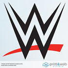 WWE Wresting Sign Wall Decal Sticker Bedroom Vinyl Kids 2015