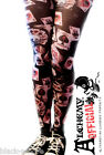 Alchemy Official Playing Cards Halloween Black Tights Goth Emo One Size