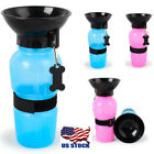 Pet Puppy Dog Cat Water Bottle Dispenser Feeder Feeding Bowl Travel Outdoor Cups