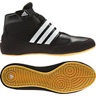 Adidas Havoc Kids Wrestling Shoes Boots Velcro Strap Trainers Childrens Black