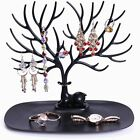 Creative Plastic Folding Screen Earring Jewelry Display Stand Holder Rack HS