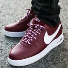 Nike Air Force 1 One LV8 NBA PACK Men's Sneaker Lifestyle Shoes Team Red White