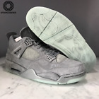 AIR JORDAN 4 IV RETRO KAWS - 930155-003 - COOL GREY/WHITE