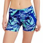 Danskin Now Women's Printed Performance Biker Shorts Size 12-14 Large