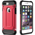 Hybrid Armor Shockproof Rugged Bumper Case For Apple iPhone 10 X 8 7 Plus 6s 5s  <br/> Shockproof Cover✔️Free Screen Protector✔️1Yr Warranty✔️