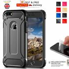 Hybrid Armor Shockproof Rugged Bumper Case For Apple iPhone 10 X 8 7 Plus 6s 5s