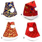Adult Floral Xmas Novelty Santa Claus Christmas Hat Party Wear Fancy Costume HX