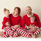 Christmas Xmas Kids Adults Family Matching Set Sleepwear Pajamas Pyjamas Costume