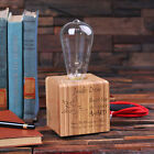 Personalized Handcrafted Edison Lamp with Vintage Bulb - Small Size