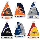 NFL Football Team Logo Christmas Holiday Santa Hat ( You Pick Team ) NEW