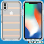 Genuine OtterBox Symmetry case cover for iPhone X Tough Inside the Lines NEW