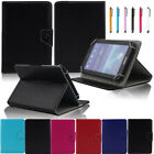"""US For NEXTBOOK Ares 7""""~10.1"""" Tablet Universal Folio Leather Stand Cover Case"""