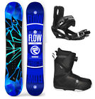 2018 FLOW Burst 151cm WOMENS Snowboard+Bindings+Flow BOA Boots NEW 4 YR WARRANTY