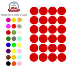 Внешний вид - Dot Stickers Round Color Coding Labels 25mm 1 Inch Permanent Adhesive 120 Pack