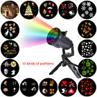 Christmas Party Props Waterproof LED Lights Projector Outdoor Decorations