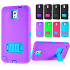 samsung note 2 3 - For Samsung Galaxy Note 2 3 4 Shockproof Hybrid Hard Rugged Cover Case Kickstand