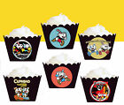 Cuphead Mugman Xbox one Party Wraps Cupcake Cases Cake Wrappers Cup Cake