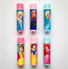 Disney Frozen & Princess Lip Balms Kids Girls - Anna Elsa Belle Ariel Snow White
