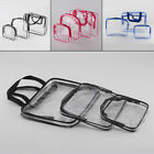 3Pcs Cosmetic Makeup Toiletry Clear PVC Travel Wash Bag Holder Pouch Kit GIFT