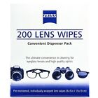 Zeiss Optical Lens Cleaning Wipes Glasses Phone Screen Camera 50,100,200 or 400 <br/> FAST AND FREE SHIPPING - GENUINE ZEISS OPTICAL PRODUCT