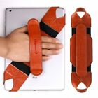 360 Degrees Swivel Leather Handle Grip, Tablet Hand Strap Holder Fit 9.7-10.1""