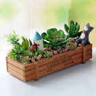 Wooden Rectangle Planter Box Succulents Plant Pot Flower Container Pot  #NEW#