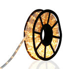 50 FT LED Rope Light 2 Wire 110V Lighting In/Outdoor Xmas Christmas