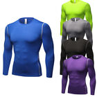 Men's Compression Gym Workout Shirts Long Sleeve Dri fit Quick-dry Light weight