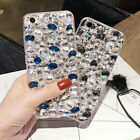 Jewelled Bling Crystal love pearls Rhinestone Diamond Soft cover case & strap A1