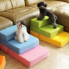 2 Steps Folding Pet Cat Dog Staircase Mat Waterproof Sofa Bed Stair Ramp Ladder