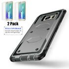 Samsung Galaxy S6 Edge Plus Ultra Thin 360 Full Body Case Cover + Tempered Glass