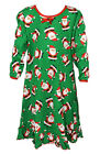 NEW Girls Hooray Santa Christmas Long Sleeve Nightgown by Sara's Prints