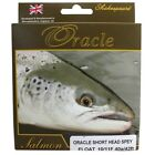 NEW SHAKEPEARE ORACLE SHORT HEAD SPEY/SWITCH SALMON FLY FISHING LINE FREE POSTUK