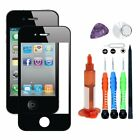 UV Glue Front Screen Glass Lens Repair Replace For Apple iPhone 4/4G /4S /Tools