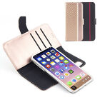 3 in 1 Removable PU Leather Wallet Phone Case Flip Magnet Cover iphone X