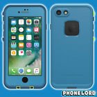 Genuine new Lifeproof Fre Frē case cover for iPhone 8 7 waterproof tough Blue