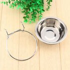 Elevated Single Dog Bowl Feeder Raised Stand Food Water Pet Tray Dish Off Ground