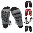 Hot Unisex If You Can Read This Bring Me a Beer Sock Women's Men's Funny Socks