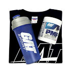 GAT PMP 30 Servings Pre-Workout with T-Shirt and a Shaker - Pick Flavors