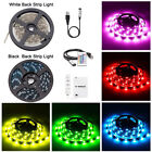 5050 RGB LED Strip Light Christmas Decor USB TV PC Back Mood Lighting DC 5V