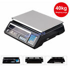 40kg/88lb Digital Price Computing Retail Weight Scale Shop Commercial 2 Display